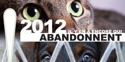 2012, L'ARRET DES ABANDONS ?