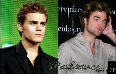 Paul Wesley comparé à Robert Pattinson !