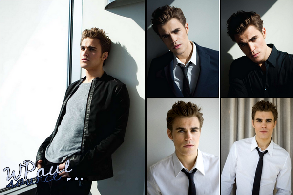 Paul nous offre un super photoshoot pour le magazine DAMAN ! Enjoy !   $)