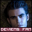 The Vampire Diaries se met à la PUB, vous aimez ? :D J'adore la tenue, surtout la veste de Damon !