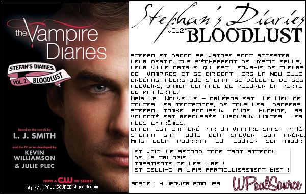 Découvre la nouvelle trilogie The Vampire Diaries !