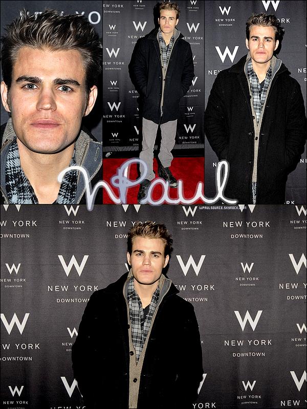 18 Novembre 2010 Paul était présent au W Happenings presents Symmetry Spins, à New York ! Godillots plus pourris, tu fais pas  ;)