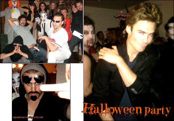 31 Octobre 2010 Pour ce Halloween, Paul était déguisé en... bonne question tiens. En tout cas, le costume est réussi : j'ai peur!  Et j'adore l'idée de Ian, c'est...beaucoup mieux que Paul!