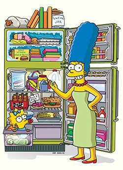 Homer et la Nourriture...