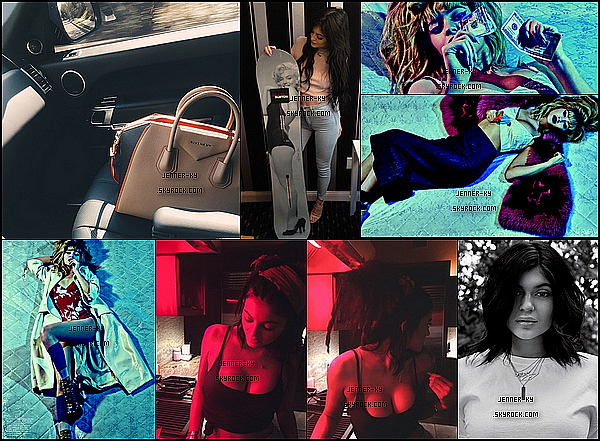 *03/02/15 - Kylie a été vue allant mangée au Sugarfish à Calabasas. Kylie était vêtue de noir et de gris. J'ai un véritable coup de coeur pour cette tenue, malgré qu'elle soit assez simple. Des avis ? *