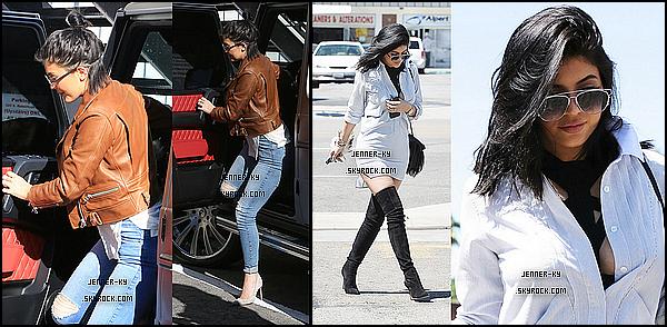 *11/07/15 - Kylie s'est rendue au Epione Cosmetic Laser Center à Beverly Hills. On découvre une Kylie ici avec un tout nouveau style qui lui va, je doit avouer, a merveille. Gros top!*