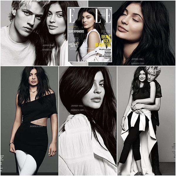PHOTOSHOOT • • Kylie a posé et fait la couverture de « ELLE UK ».