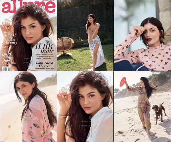 14/07/2016 : Kylie Jenner a été vue arrivant à l'aéroport LAX. - Los AngelesKylizzle portait une jolie petite robe moulante mauve qui lui va super bien, avec un perfecto en daim beige/orangé, et des tennis blancs.