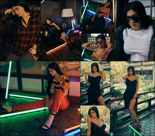Photoshoot  Kendall+Kylie  DropThree  Collection  2017Après le DropTwo, je vous présente le DropThree by Kendall+Kylie. Je trouve Ky juste sublime sur ce shooting.