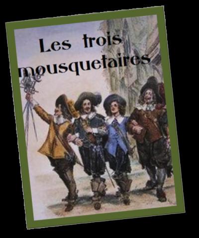 10 . Les trois mousquetaires (Tome 1) d' Alexandre DUMAS - Lu par Cocotte - Durée : 28h 30min - Litterature audio.com