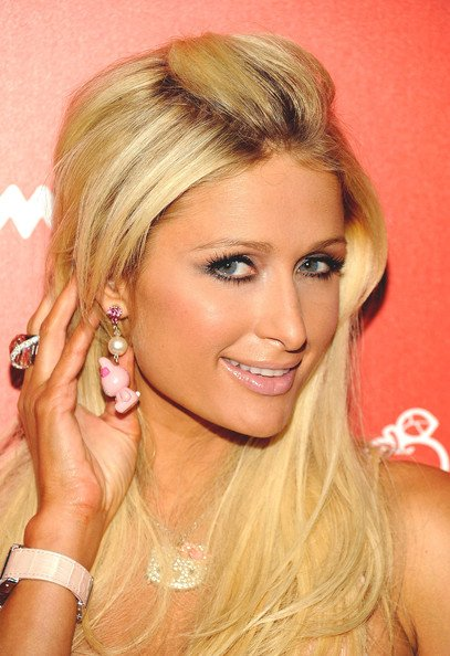 Paris and Nicky Hilton Fan Everything