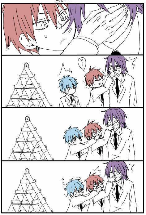 ...... Pauvre Kuroko, Murasakibara et Akashi xD