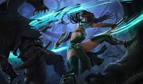 Akali Poing des ombres