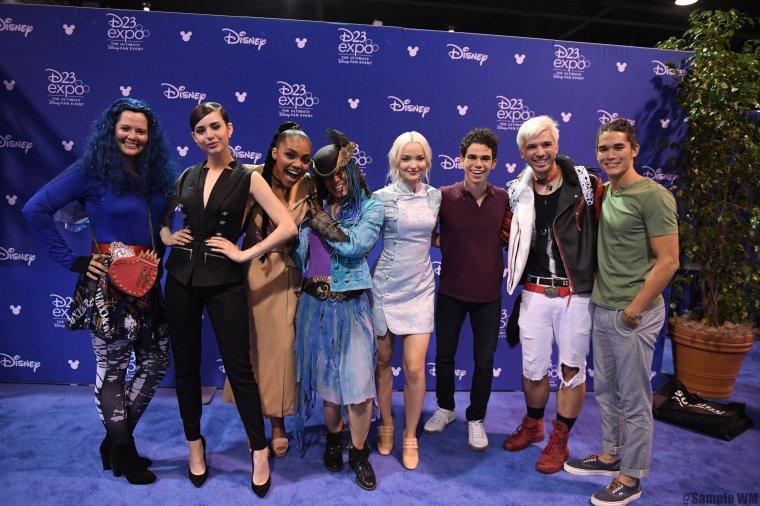 Le 14 Juillet, le cast était présent à la D23 Expo