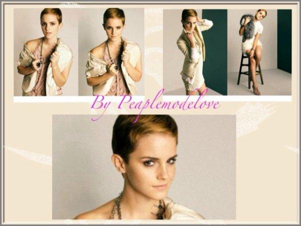 Nouvelle photo d' Emma Watson pour le magazine Marie Claire
