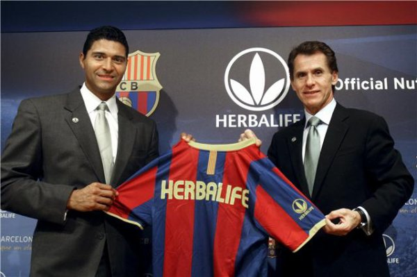 HERBALIFE sponsor du FC BARCELONE