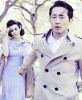Steven Yeun & Lauren Cohan.