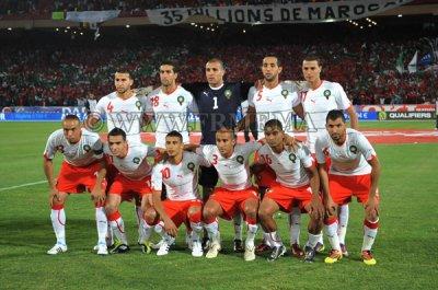 Le derby maghrebin( Le Maroc 4 , Algerie 0 )