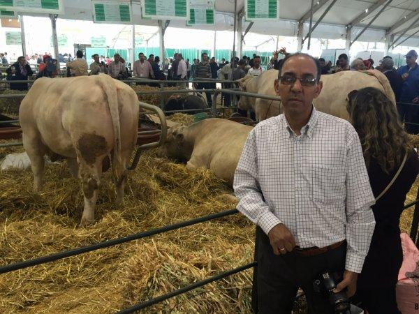 Au salon international de l'agriculture à Meknes au Maroc