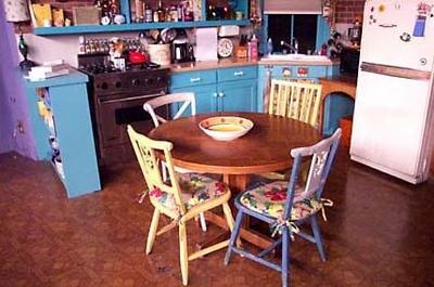 Appartement de monica friends la s rie - La cuisine de monique ...