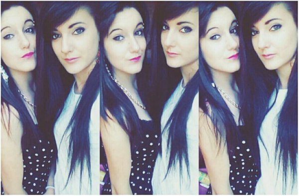Moi et ma soeur jumelle!