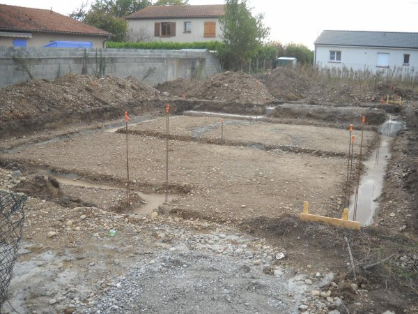 03 Novembre 2015 terrassement et fondations