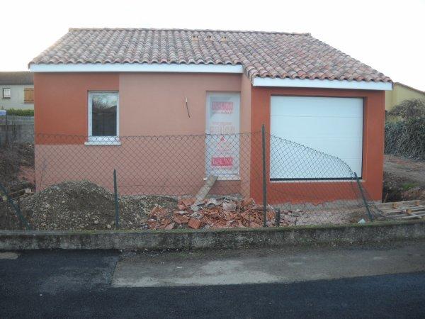 Mercredi 03 Février enduit de façades terminés