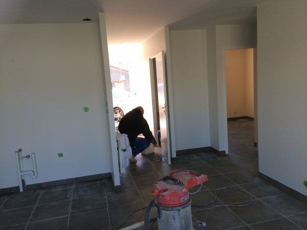 Avancement des travaux de peinture le Vendredi 15 Avril 2016