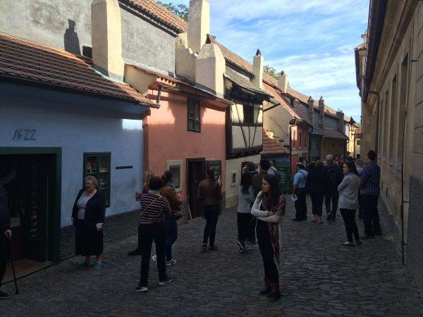Jeudi 29 septembre 2eme jour du périple à Prague visite du chateau