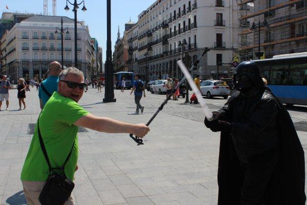 Lundi 12 Juin 2017 dernier jour de notre périple à MADRID