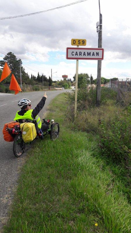 Tour de la Haute Garonne en TRYKE du 16 Septembre au 30 Septembre 2017