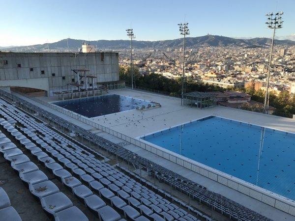 Jeudi 01 Novembre 2018 Barcelone visite parc CIUTADELLA et INSTALLATION OLYMPIQUE MONTJUIC