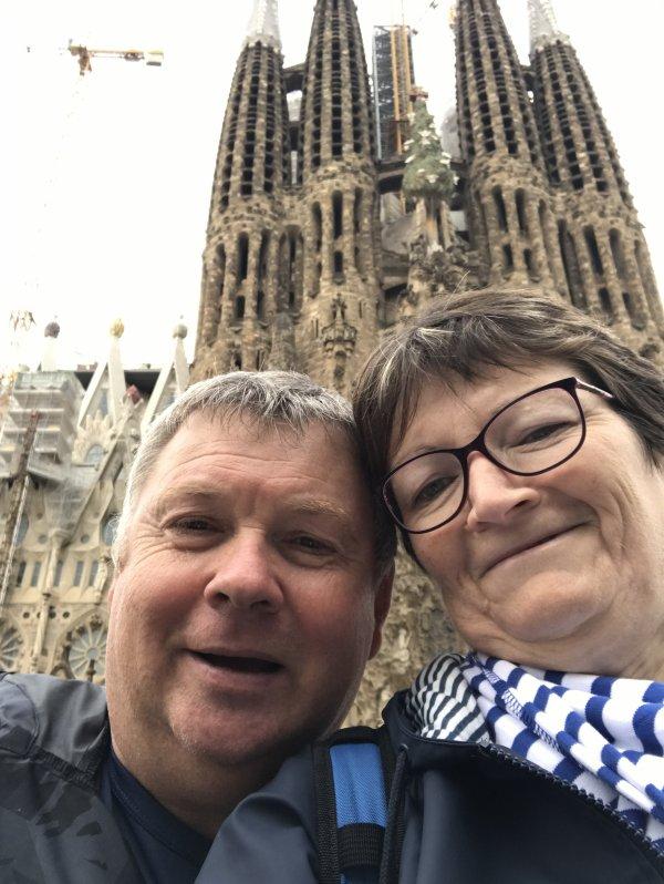Vendredi 02 Novembre 2018 Barcelone visite SAGRADA FAMILIA