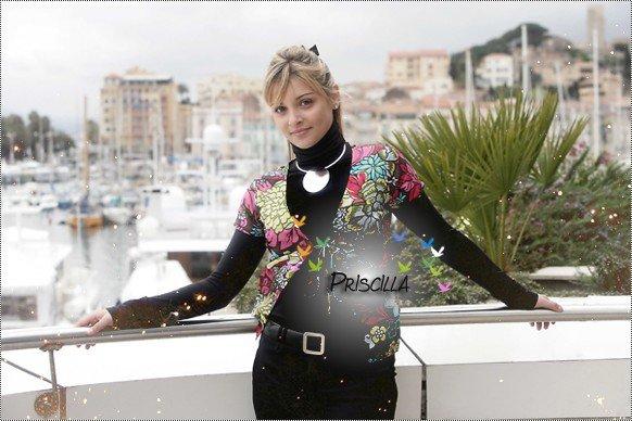 """Priscilla dans 100% Mag et """"Ici Paris"""""""