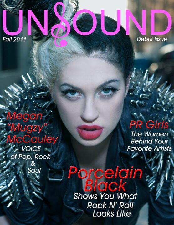 Porcelain Black dans Unsound Magazine