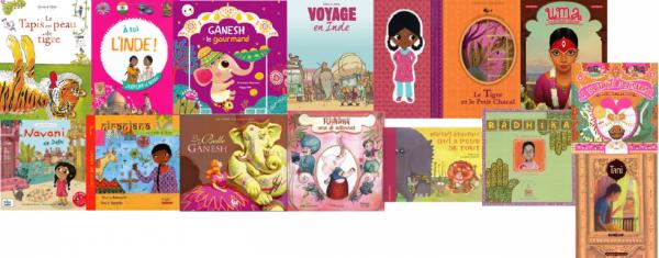Livres pour enfants sur l'inde :P