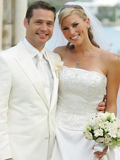 Jason Priestley & Naomi Lowde