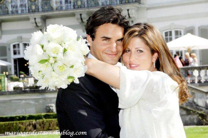 Roger Federer & Mirka Vavrinec
