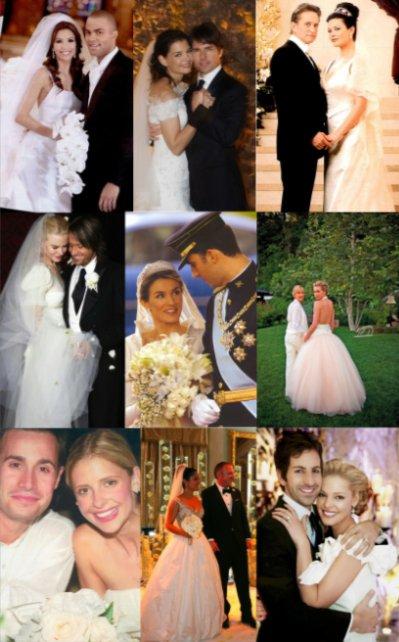 Les meilleures photos de mariage de stars - Elle