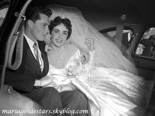 Elizabeth Taylor & Conrad Hilton