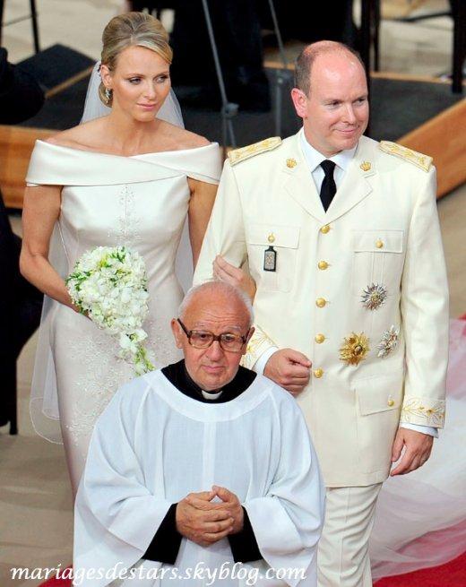 Albert de Monaco & Charlene Wittstock