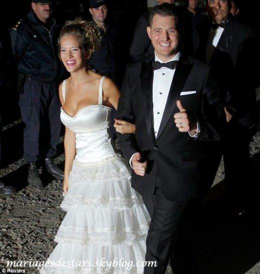 Michael Buble & Luisana Lopilato