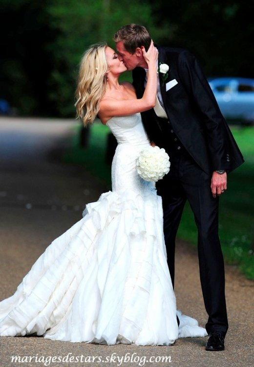 Peter Crouch & Abigail Clancy