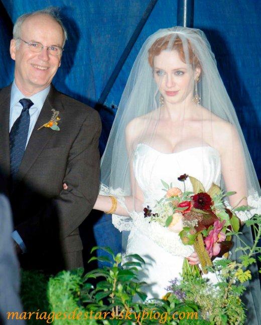 Christina Hendricks & Geoffrey Arend