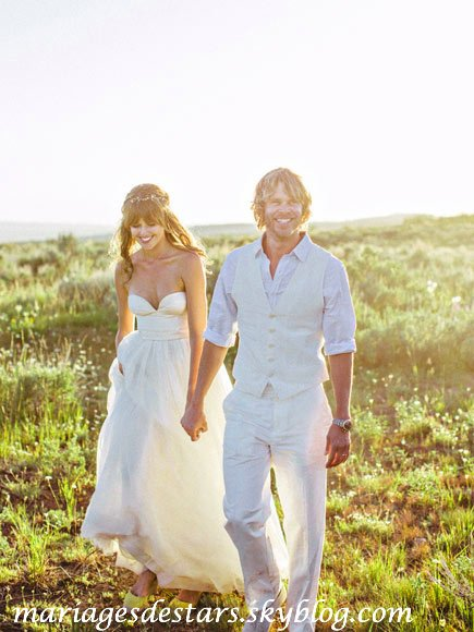 Eric Christian Olsen & Sarah Wright
