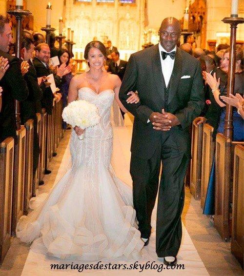 Michael Jordan & Yvette Prieto