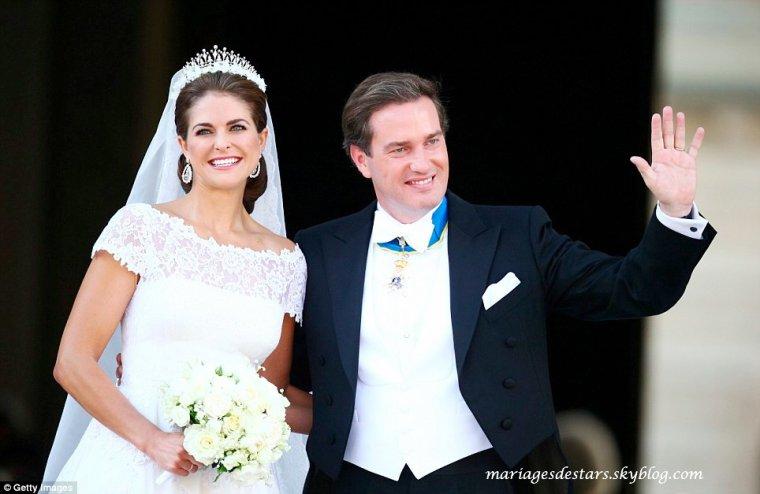 Madeleine de Suède & Chris O'Neil