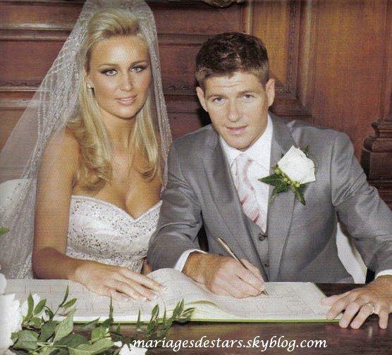 Steven Gerrard & Alex Curran