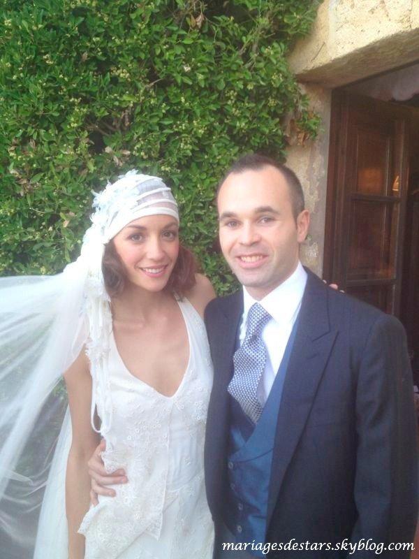 Andrés Iniesta & Anna Ortiz