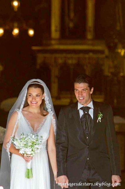 Gianluigi Buffon & Alena Seredova